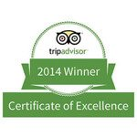 excellence certificate tripadvisor 2014