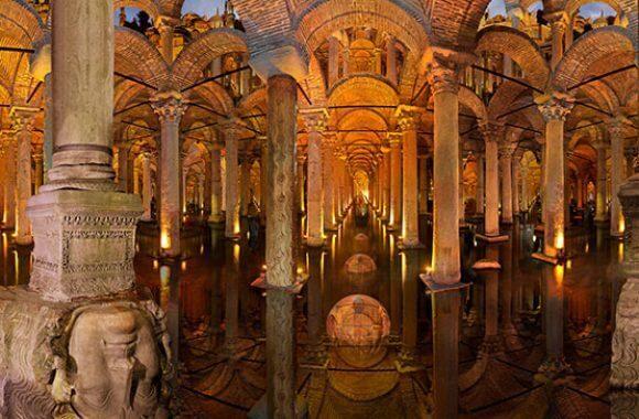 istanbul private tours Basilica-Cistern